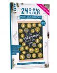 24 X-MAS SECRETS - Rubbel-Adventskalender - Lettering