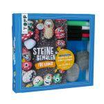 Kreativ-Set Steine bemalen für Kinder (Buch + Material)