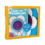 Kreativ-Set Meine süße Webblume (Buch + Material)