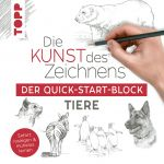 Die Kunst des Zeichnens Tiere. Der Quick-Start-Block