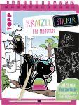 Kratzel-Stickerbuch für Mädchen