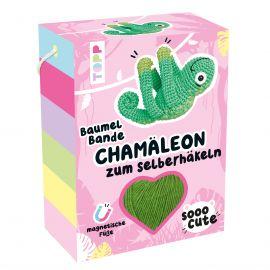 Sooo Cute Baumel-Bande Häkelset Chamäleon VE= 4 Ex.