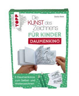Die Kunst des Zeichnens für Kinder Daumenkino