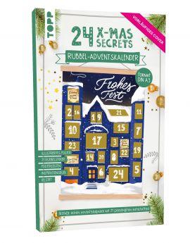 24 X-MAS SECRETS - Rubbel-Adventskalender - Weihnachtshaus