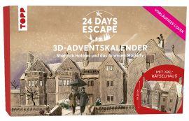 24 DAYS ESCAPE 3D-Adventskalender – Sherlock Holmes und das Anwesen Moriarty