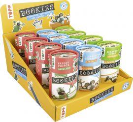 Bookies Häkelsets Frosch/ Leseratte/ Schaf Display, 3x 4 Ex.