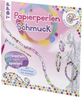Rundum Kunterbunt Papierperlen-Schmuck Set, VE= 3 Ex.