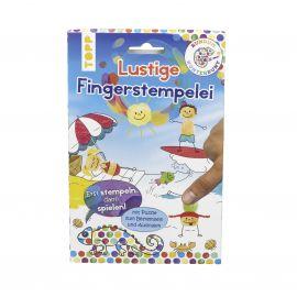 Rundum Kunterbunt Lustige Fingerstempelei Set, VE= 3 Ex.