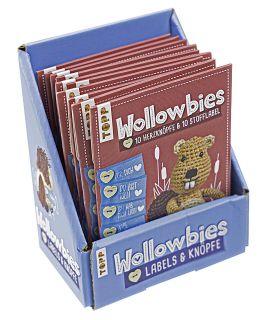 Wollowbies Label- und Knöpfeset Display, 10 Ex.