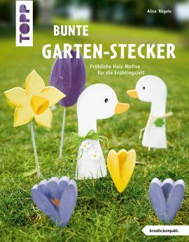 Bunte Garten-Stecker