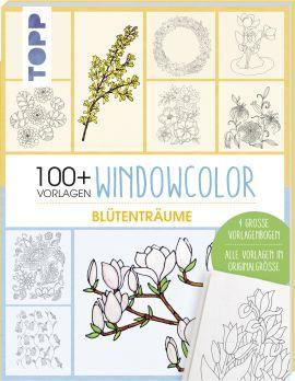 Vorlagenmappe Window Color – Blumen