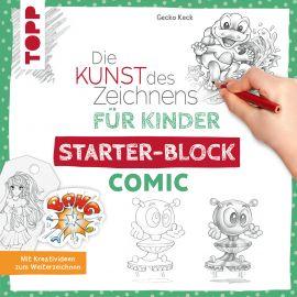 Die Kunst des Zeichnens für Kinder Starter-Block - Comic
