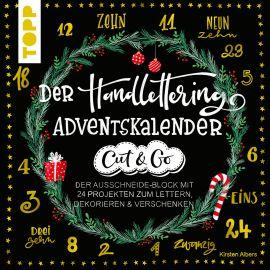 Der Handlettering-Adventskalender - Cut & Go