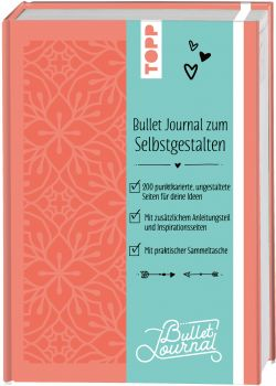 Bullet Journal zum Selbstgestalten - Blüten