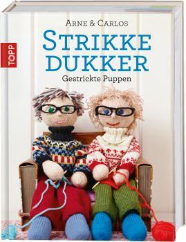 Strikkedukker - Gestrickte Puppen