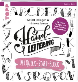 Handlettering. Der Quick-Start-Block