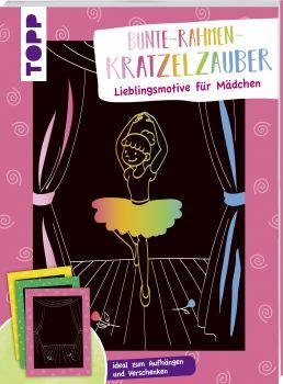 Bunte Rahmen Kratzelzauber Lieblingsmotive für Mädchen