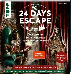 24 DAYS ESCAPE – Der Escape Room Adventskalender: Scrooge und die verlorene Weihnachtsgeschichte