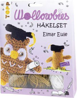 Fabelhafte Wollowbies Häkelset Elmar Eule, VE=4 Ex.