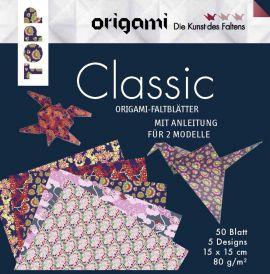 Origami Faltblätter Classic