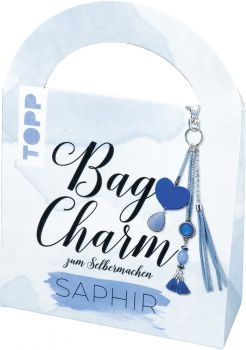 Bag Charm Set Saphir, VE=4 Ex.