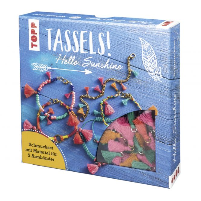 Tassels! Schmuckset Hello Sunshine