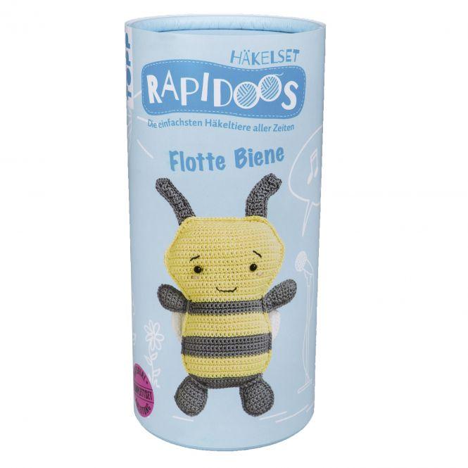 Rapidoos Häkelset Flotte Biene