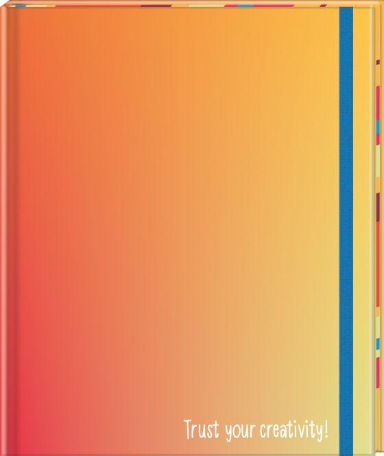 Das Notizbuch für Kreative - Trust your creativity! (19,5 x 23 cm)