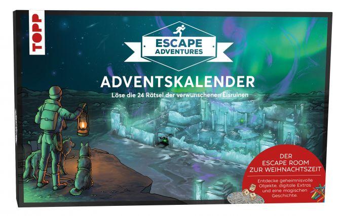 Adventskalender Escape Adventures - Die verwunschenen Eisruinen