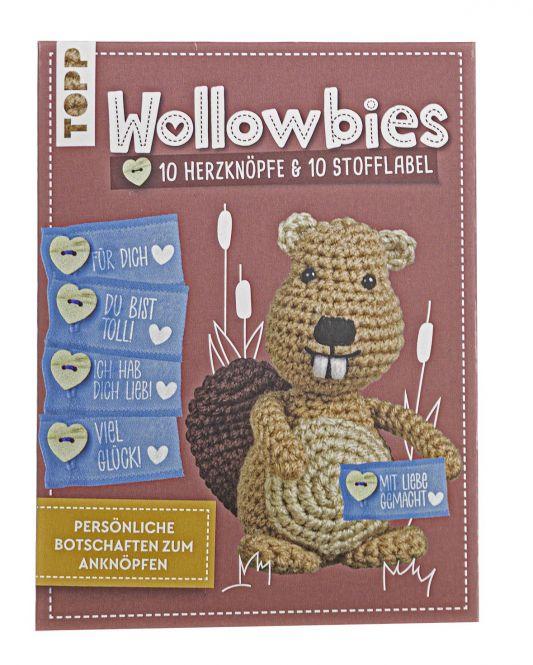 Wollowbies Label- und Knöpfeset