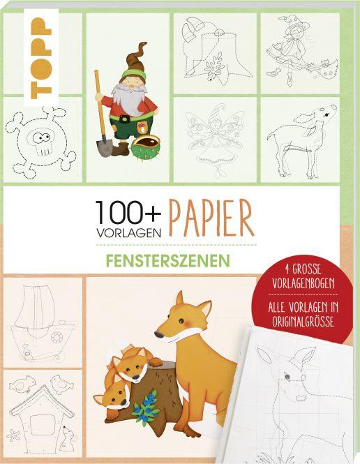 Vorlagenmappe Papier – Fensterbilder