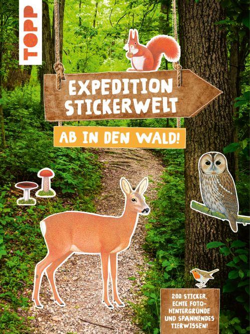 Expedition Stickerwelt - Ab in den Wald!