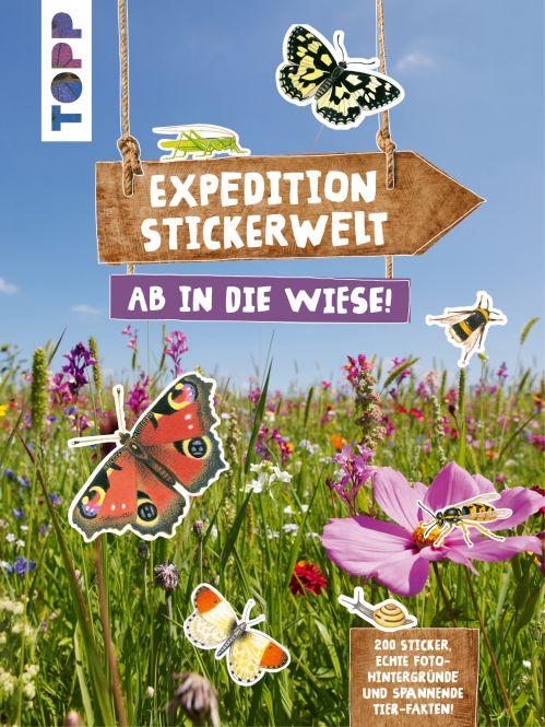 Expedition Stickerwelt - Ab in die Wiese!