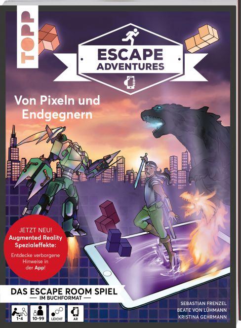Escape Adventures AR – Augmented Reality. Von Pixeln und Endgegnern