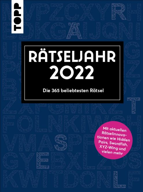 Rätseljahr 2022 – Die 365 beliebtesten Rätsel