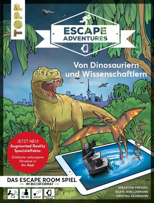 Escape Adventures AR – Augmented Reality. Von Dinosauriern und Wissenschaftlern