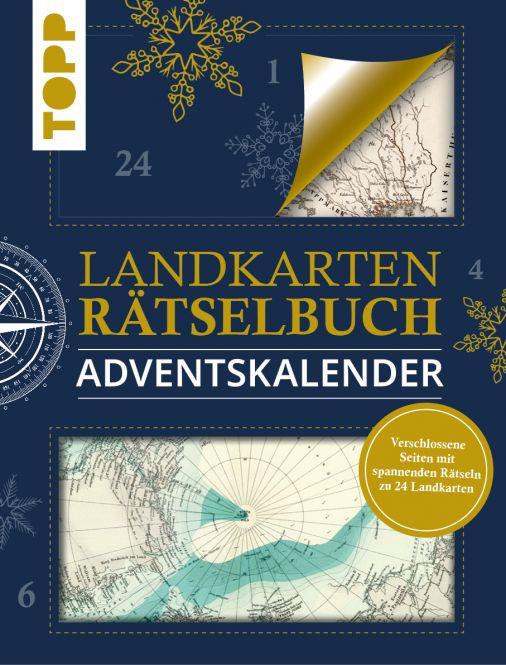 Landkarten-Rätsel Adventskalender