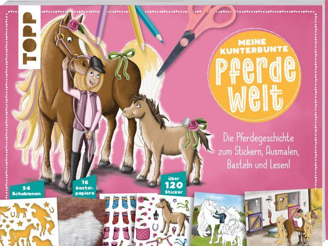 Meine kunterbunte Pferde-Welt