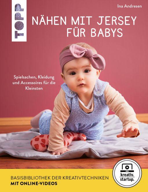 Nähen mit Jersey für Babys (kreativ.startup.)