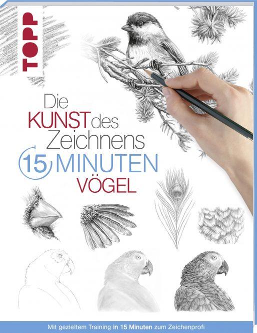 Die Kunst des Zeichnens 15 Minuten - Vögel