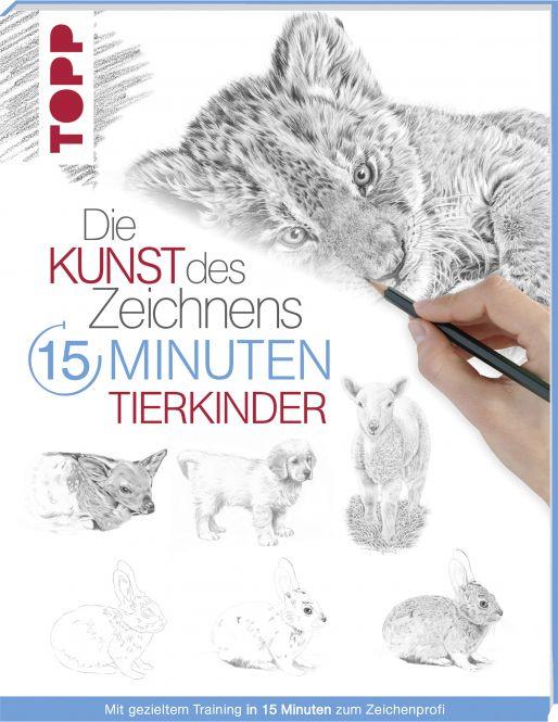 15 Minuten Kunst des Zeichnens Tierkinder