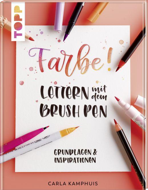 Farbe! Lettern mit dem Brush Pen