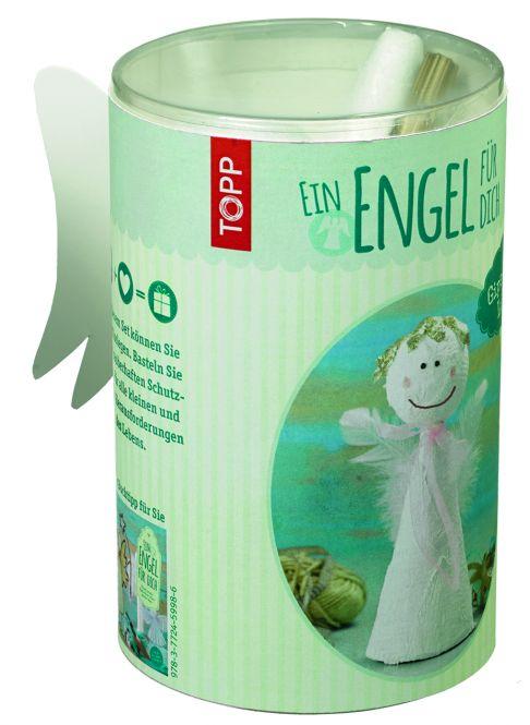 Ein Engel für dich! Gipsengel Lucia Materialset, VE=4