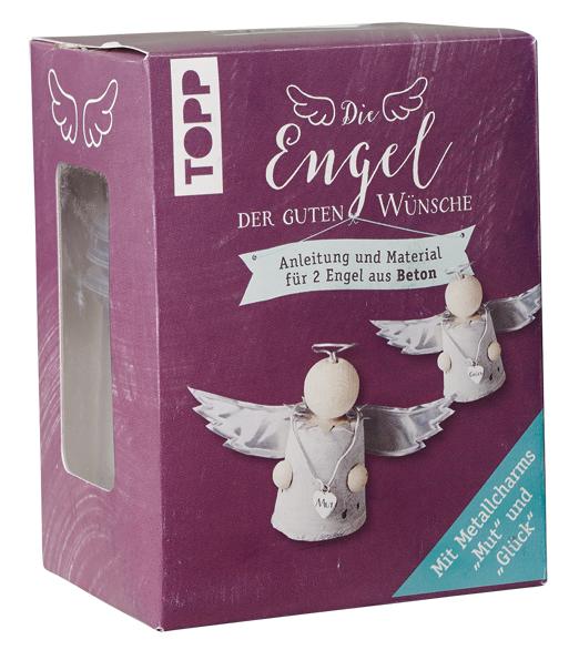 Die Engel der guten Wünsche Materialset Betonengel, VE=4 Ex.