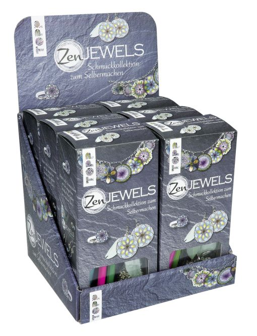 ZenJewels Schmuckset Display, 6 Ex.