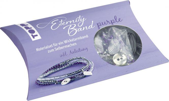 Eternity Band Set purple, VE=4 Ex.