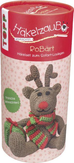 HäkelzauBär Weihnachten Häkelset Rentier, VE=3 Ex.
