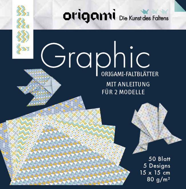 Origami Faltblätter Graphic