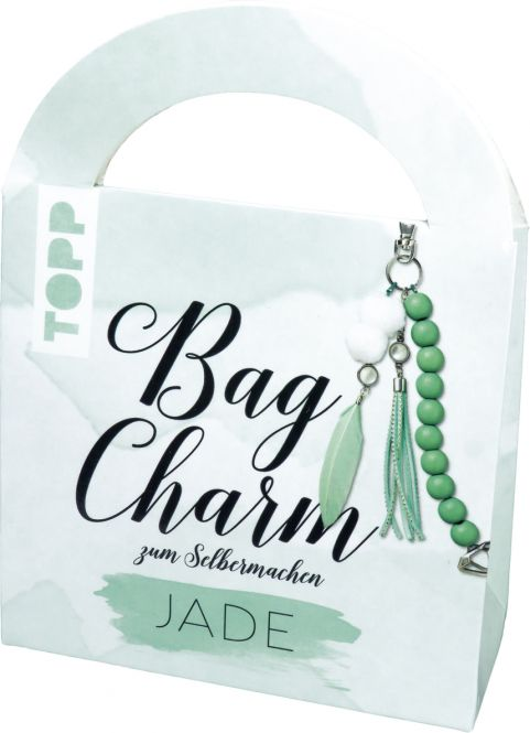Bag Charm Set Jade, VE=4 Ex.