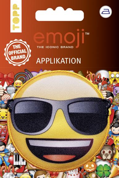 Emoji Applikation Sonnenbrille, VE=5 Ex.